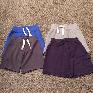 Lot of (4) Old Navy Boys Sweat Shorts